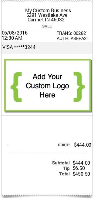 expressexpense custom receipt maker