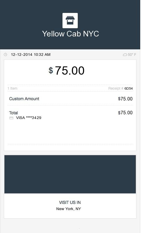 Square-taxi-receipt | ExpressExpense - Custom Receipt Maker