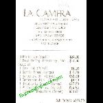 Receipt For Our Meal Picture Of La Camera Restaurant Southgate